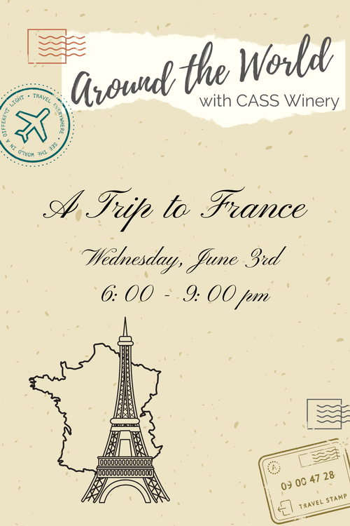 Wednesday's Around The World Dinner: France