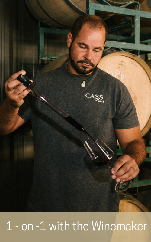 2020 CASS Crew Seminars (1-on-1 with the Winemaker)